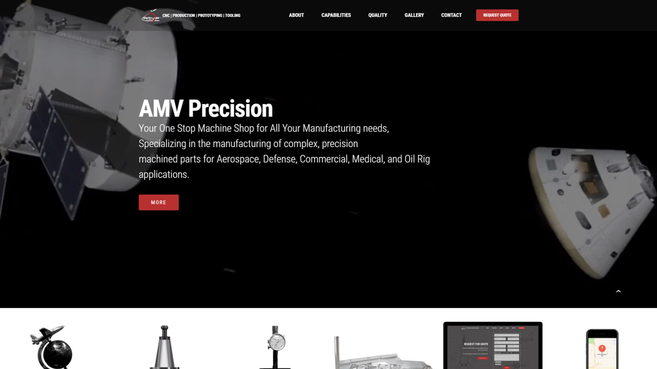 Aerospace Manufacturing Homepage