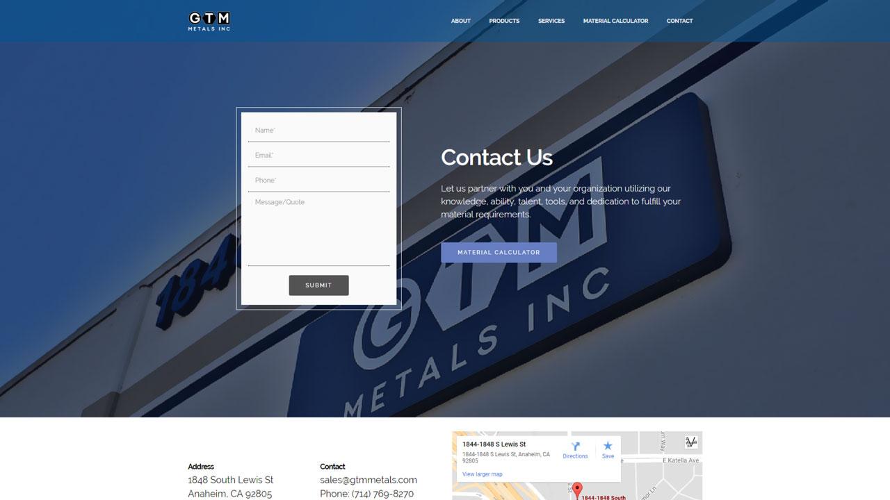 Material Distributor Contact