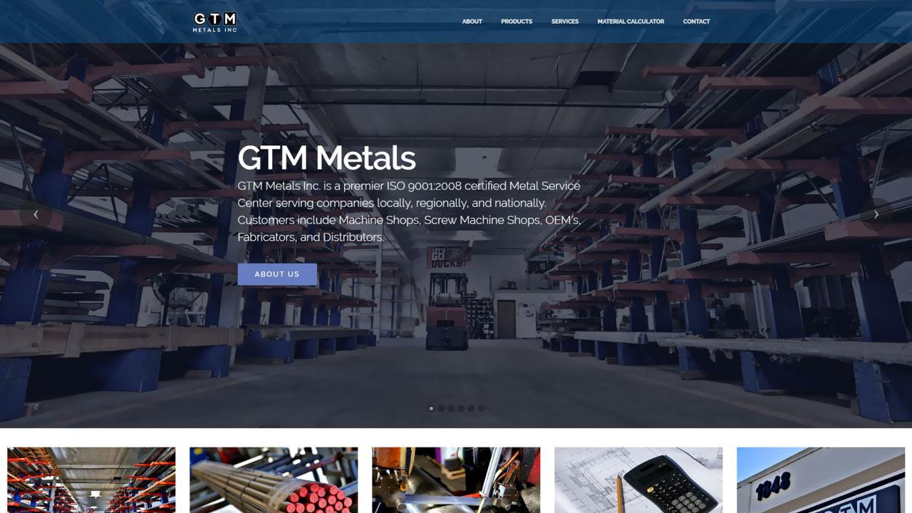 Material Distributor Homepage