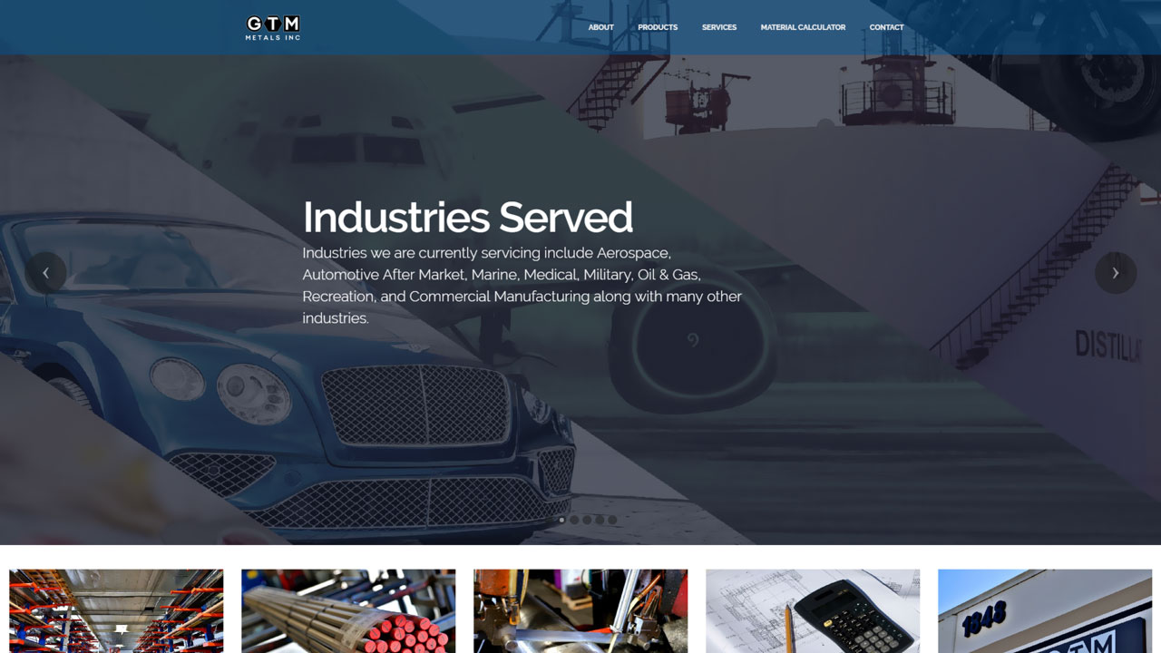 Material Distributor Industries Served