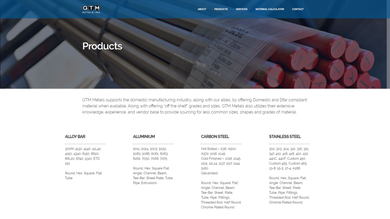 Material Distributor Products
