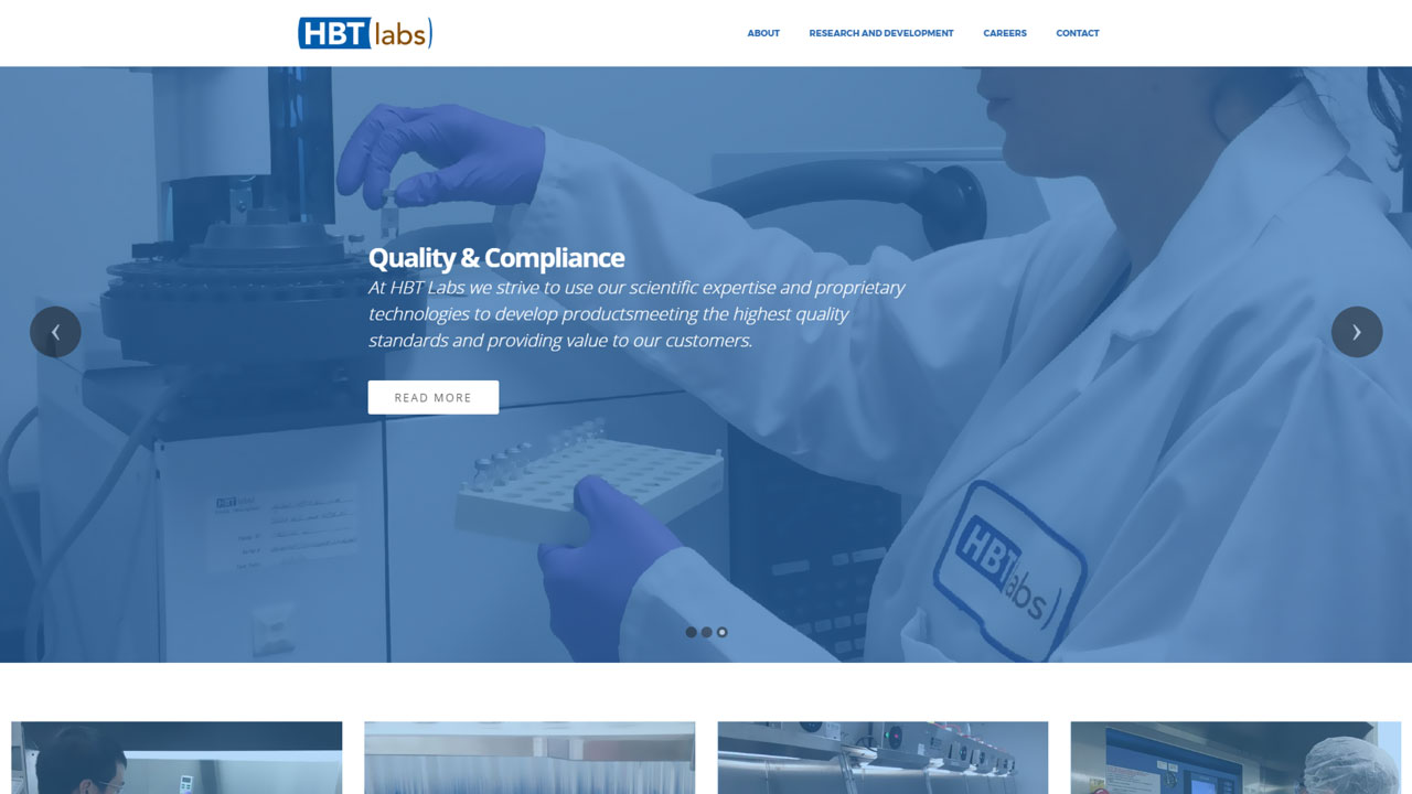 Pharmaceutical Laboratory Homepage
